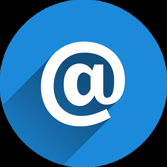 Nouvelles adresses emails !