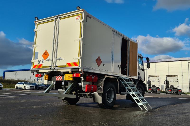 Caisse ADR – Transport de matières explosives